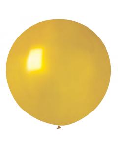 Jätteballong metallic guld