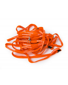 Logonackband orange, 10-pack