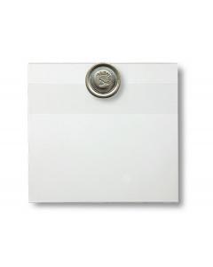 Konferensnamnbricka med magnet, 100-pack